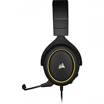 Corsair HS60  PRO CA-9011214-EU Surround 7.1 Sarý USB Kablolu Kulaklýk  PC / XBOX ONE / PS4 / SWÝTCH