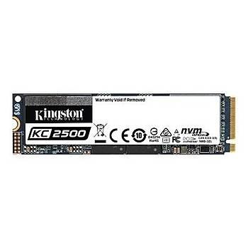 Kingston KC2500 2TB 3.500/2.900MB/s PCIe Gen 3.0 NVMe M.2 SSD Disk (SKC2500M8/2000G)
