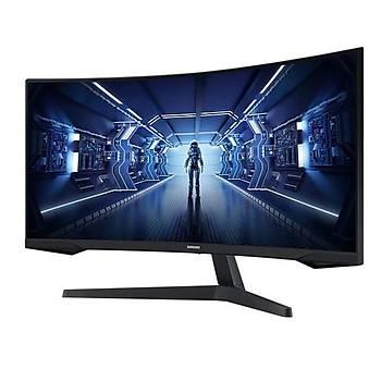 Samsung Odyssey G5 LC34G55TWWMXUF 34 inch 1ms 165 Hz 2K WQHD Freesync Curved Oyuncu Monitörü