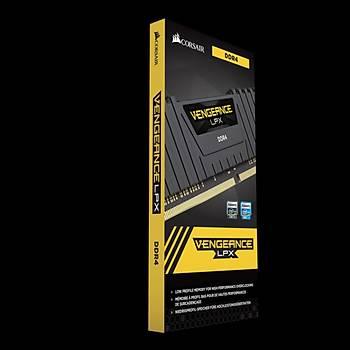 Corsair Vengeance 8GB 3600MHz DDR4 AMD Ryzen CMK8GX4M1Z3600C18 Soðutuculu Bellek (Siyah)