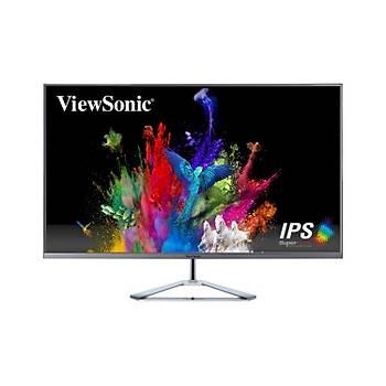 ViewSonic 32 VX3276-4K-MHD 4K 3840x2160 2xHDMI+DP+MINI DP 4MS 60HZ 300 NITS  ÇERÇEVESÝZ MONÝTÖR