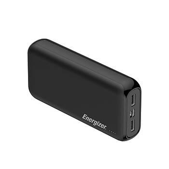 Energizer Max UE20010 20.000mah Type-C&Micro USB Giriþli Taþýnabilir Þarj Cihazý Siyah