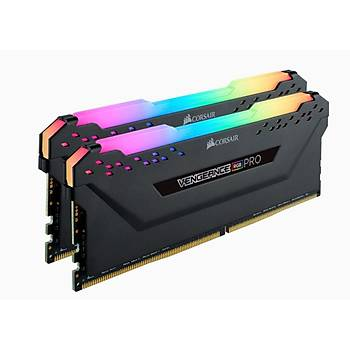 Corsair Vengeance RGB PRO SL 32GB (2x16GB) DDR4 3200Mhz CMH32GX4M2Z3200C16 AMD Ryzen Bellek Siyah