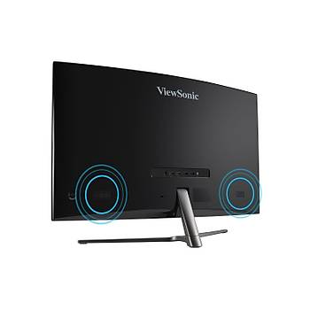 ViewSonic 32 VX3258-2KPC-MHD 2K 2560x1440 144Hz 1ms (HDMI+DP) FREESYNC CURVED GAMING MONÝTÖR