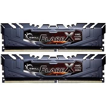 GSKILL Flare X 16GB (2x8) DDR4 3200Mhz CL16  AMD Ryzen Uyumlu 1.35V (F4-3200C16D-16GFX)