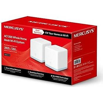 TP-LINK MERCUSYS HALO S12 ( 2-Pack ) 1200 Mbps 5 GHZ WIFI MESH SÝSTEM