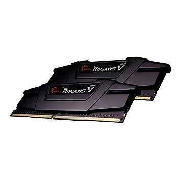 GSKILL RipjawsV  16GB (2X8) DDR4-4800Mhz CL19  Siyah  1.5V  (F4-4800C19D-16GVKC)