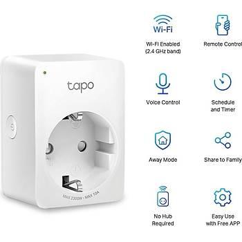 TP-LINK TAPO P100 AKILLI MÝNÝ Wi-Fi Soketi ( 4?lü Paket )