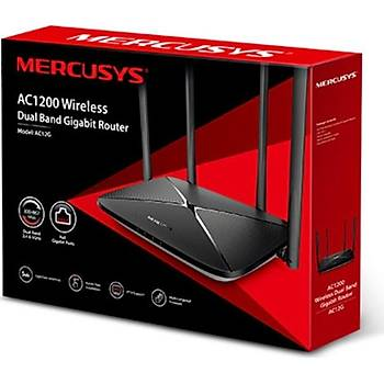 TP-LINK MERCUSYS AC12G 3 PORT 1200 MBPS ROUTER