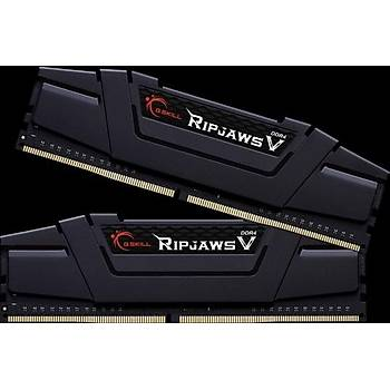 GSKILL RipjawsV 16GB (2X8) DDR4 3200Mhz CL16  DUAL 1.35V Siyah (F4-3200C16D-16GVKB)