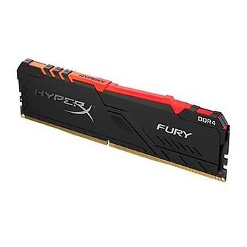 Kingston HyperX FURY RGB 128GB 3200MHz DDR4 CL16 DIMM (4x32) Gaming Bellek (HX432C16FB3AK4/128)