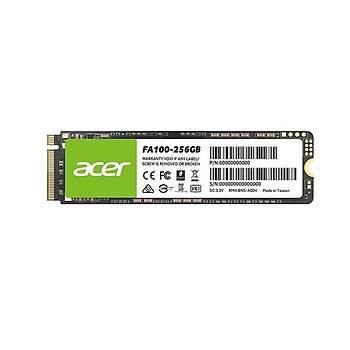 Acer FA100 256GB 3300-2700MB/sn PCle Gen3 M2 (FA100-256GB)