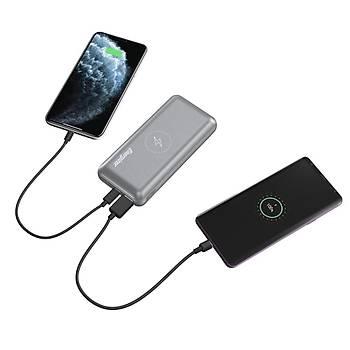 Energizer Ultimate QE20007PQ 20.000mAh Dual Input/Output Kablosuz Ultra Hýzlý Taþýnabilir Þarj Cihaz
