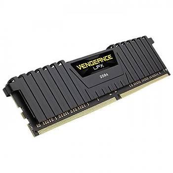 Corsair Vengeance LPX 8GB (1x8GB) DDR4 3200Mhz CMK8GX4M1Z3200C16 AMD Ryzen Bellek Siyah