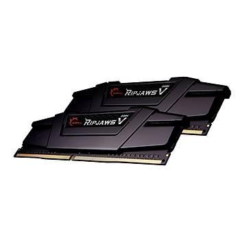GSKILL RipjawsV  16GB (2X8) DDR4-4600Mhz CL19   Siyah  1.5V  (F4-4600C19D-16GVKE)