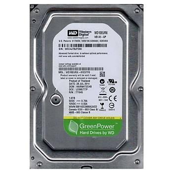 Western Digital 3.5inch  1TB  AV-GP WD10EURX SATA 3.0 5400 RPM HardDisk