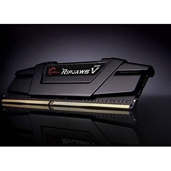GSKILL RipjawsV 128GB (4X32) DDR4-3600Mhz CL16 Siyah 1.35V (F4-3600C18Q-128GVK)