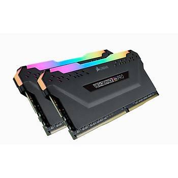 Corsair Vengeance RGB PRO 16GB (2x8GB) DDR4 3200Mhz CMW16GX4M2C3200C14 Bellek Siyah
