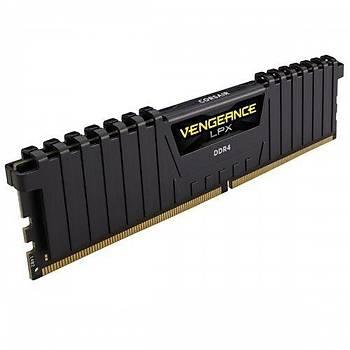 Corsair Vengeance LPX 16GB(2x8) 3000MHz DDR4 CMK16GX4M2D3000C16 Bellek (Siyah)