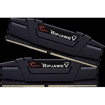 GSKILL RipjawsV 128GB (4X32) DDR4-3200Mhz CL16 Siyah 1.35V (F4-3200C16Q-128GVK)