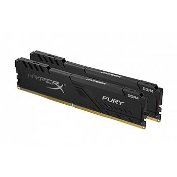 Kingston HyperX FURY Black 32GB 3600MHz DDR4 CL17 DIMM (4x8) Gaming Bellek (HX436C17FB3K4/32)
