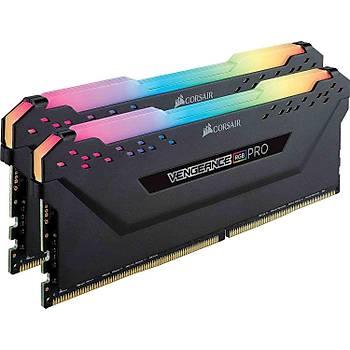 Corsair Vengeance RGB PRO 32GB (4x8) 3600Mhz CMW32GX4M4D3600C18 Siyah