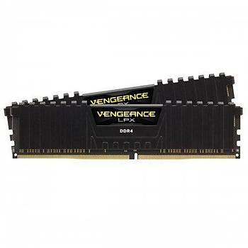 Corsair Vengeance 16GB(2x8GB) 3200Mhz DDR4 CMK16GX4M2E3200C16 Bellek Siyah 1.35V