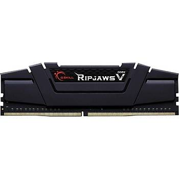 GSKILL RipjawsV 16GB DDR4 3200Mhz CL16 Tek Modül 1.35V Siyah (F4-3200C16S-16GVK)