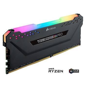 Corsair Vengeance RGB PRO 8GB 3200Mhz DDR4 AMD Ryzen CMW8GX4M1Z3200C16 Bellek