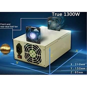 FSP Cannon FSP1300-50YD 1300W 8cm Fan Power Supply (Mining)