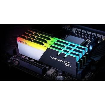 GSKILL Trident Z Neo RGB 16GB (2x8) DDR4 3600Mhz CL18 AMD Ryzen Uyumlu (F4-3600C18D-16GTZN)