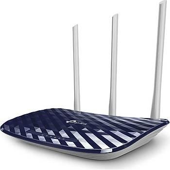 TP-Link Archer C20 AC 750 Mbps Kablosuz Dual Band Menzil Geniþletici / Access Point ve Router