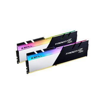 GSKILL Trident Z Neo RGB 64GB (2X32) DDR4-4000Mhz CL18 1.4V AMD Ryzen Uyumlu (F4-4000C18D-64GTZN)