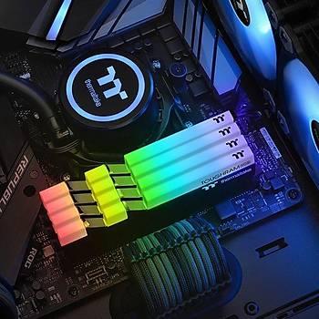 Thermaltake TOUGHRAM RGB 16GB (2x8GB) DDR4 3600Mhz CL18 Bellek (R009D408GX2-3600C18B) Siyah