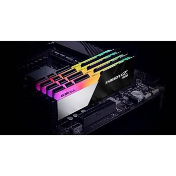 GSKILL Trident Z Neo RGB 64GB (2x32) DDR4 3600Mhz CL18 AMD Ryzen Uyumlu (F4-3600C18D-64GTZN)