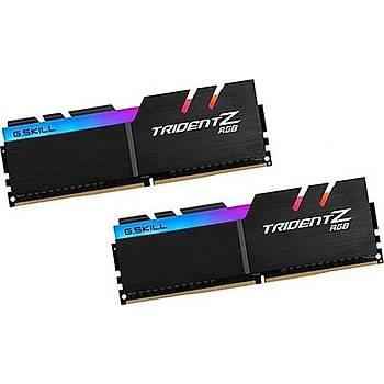 GSKILL Trident Z RGB 16GB (2x8) DDR4 3200MHz CL16 1.35V Bellek (F4-3200C16D-16GTZR)