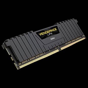 Corsair Vengeance LPX 8GB 3000MHz DDR4 CMK8GX4M1D3000C16 Soðutuculu Bellek (Siyah)