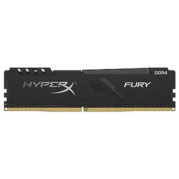 Kingston HyperX FURY Black 128GB 3200MHz DDR4 CL16 DIMM (4x32) Gaming Bellek (HX432C16FB3K4/128)