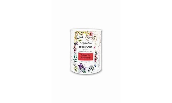 TEALICIOUS Oolong Tea Strawberry (çilekli) 60 g