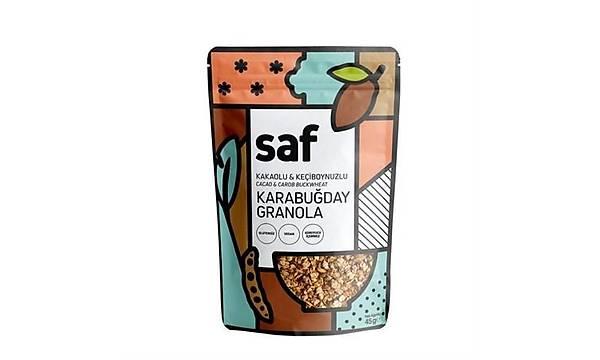 SAF KAKAOLU & KEÇÝBOYNUZLU KARABUÐDAY GRANOLA (45 G)