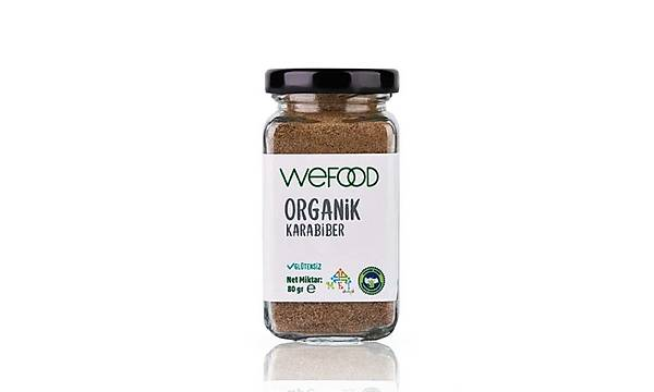 Wefood Organik Karabiber 80 gr