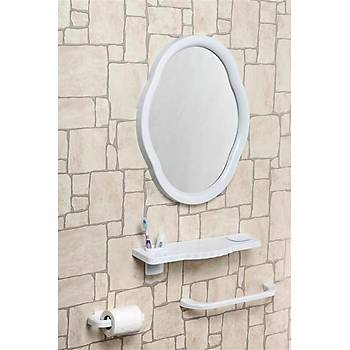 Mega Oval Ayna Seti