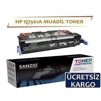 Hp Color LaserJet Q7561A Muadil Toner Mavi 314A 2700 3000