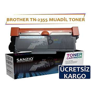 For Brother Tn 2355 Muadil Toner