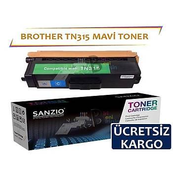 For Brother TN 315 C Mavi Muadil Toner HL4150 HL4570