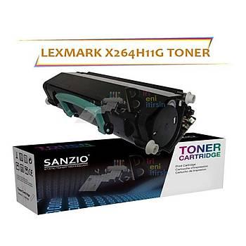 Lexmark X264h11g Muadil Toner