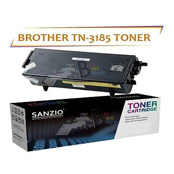 For Brother Tn3185 Muadil Toner 5250/8460
