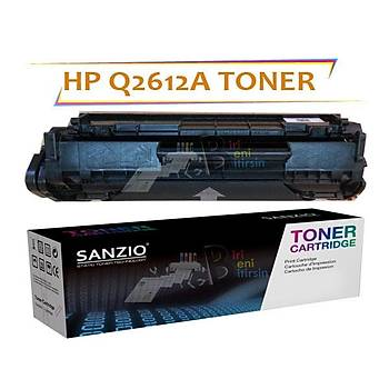 HP Q2612A 2200 sayfa Muadil Toner Laserjet 1010 1012 1015 1018 1020 1022 1050 3015 3020 3050 M1005