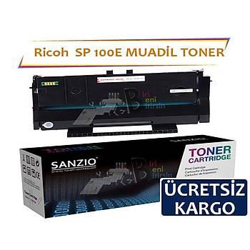 Ricoh SP 100E 1200 Sayfa Muadil Toner SP 110 111 100