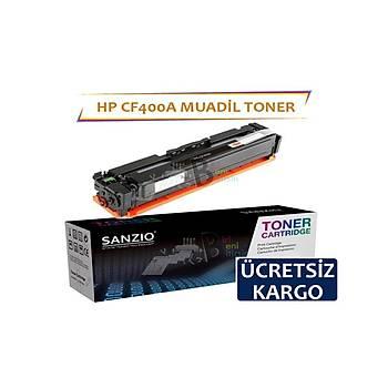 HP CF400A 201A Siyah Muadil Toner Color LaserJet Pro M252Dw M252n